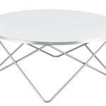 שולחן סלון דגם HF-YC28 (כסף+ לבן)SILVER