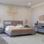 חדר שינה קומופלט דגם מקסיקו