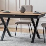 שולחן דגם APPLE אפור מבריק